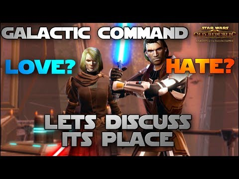 Galactic Command - Lets Discuss Its Place