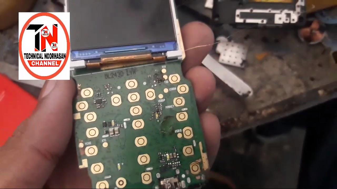 Itel China keypad phone it5231/display light solution