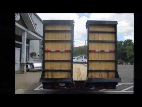 The Trailer Depot- CAM Superline 20 Ton 25' Deckover With Air Power Ramps