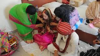 Последний обряд на индийской свадьбе