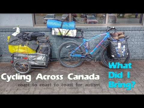Cycling Across Canada - What Did I Bring? (Part1: Camping Gear)