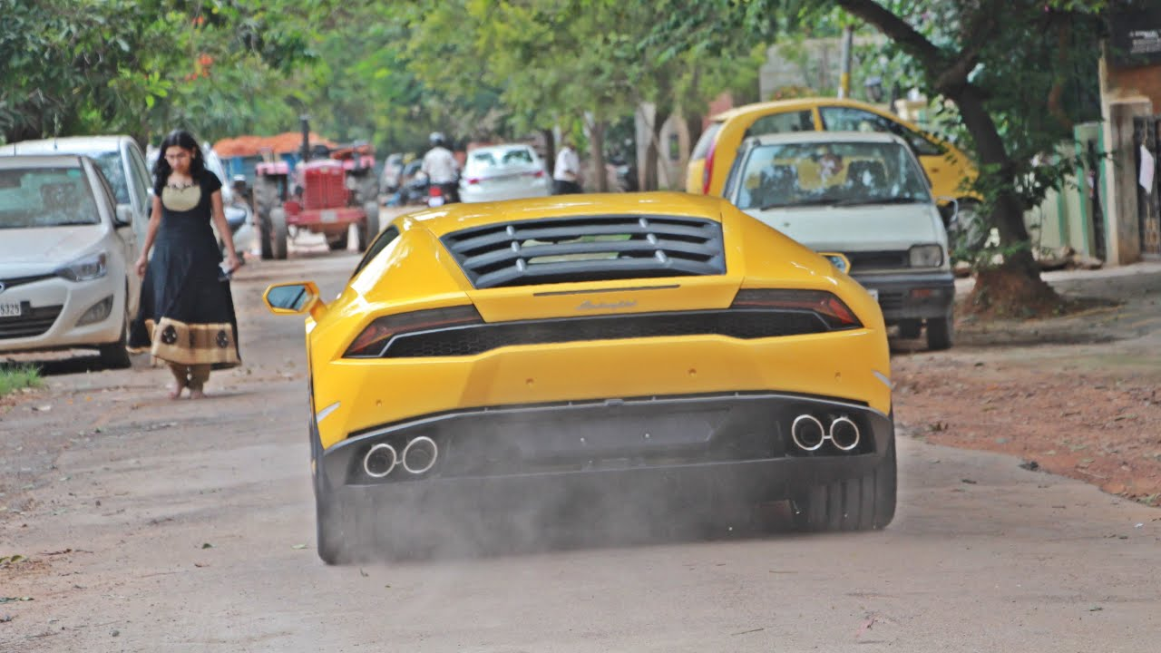 Lamborghinis In India Bangalore 2015 Youtube