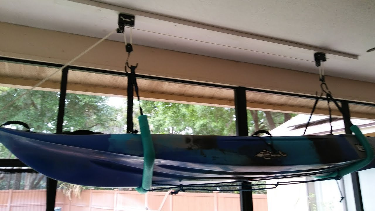 Beef Up Your Kayak Hoist for $25 by Crixus 10
