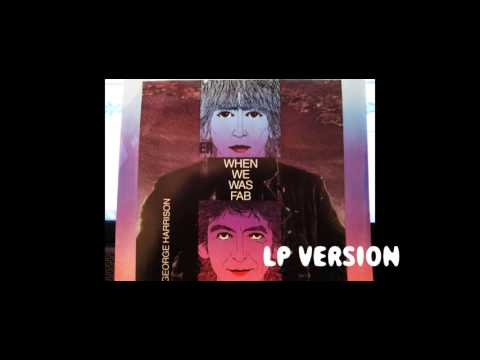 When We Was Fab by George Harrison CD/LP...