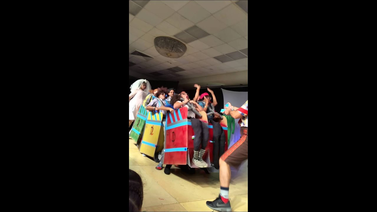 The Rollercoaster Halloween costume @ philly salsa - YouTube