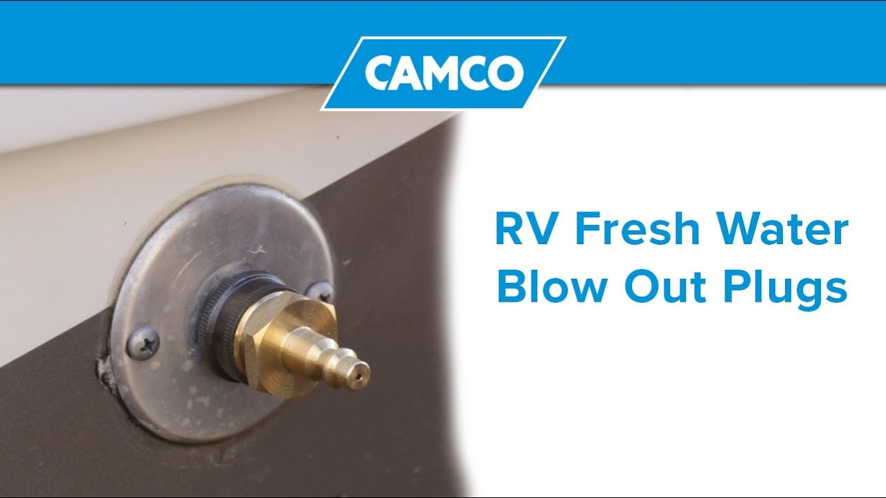 Camco Plastic Blow-out Plug