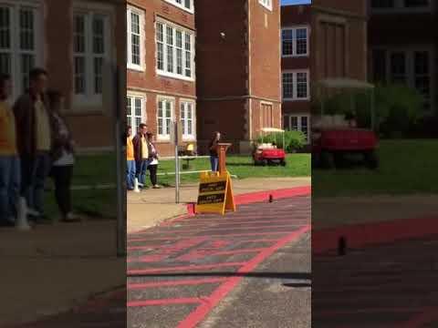 National School Walkout Day Parkersburg High School