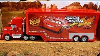 Mack Truck and Transporter /  Мак Трейлер - Cars / Тачки - Disney - Mattel - CDN64