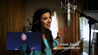 Frozen - Il Regno di Ghiaccio -- Let It Go - Studio version in 25 lingue | HD