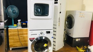 LG 소형 드럼세탁기+마름건조기
