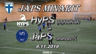 JäPS Minarit HyPS P09 punainen vs JäPS sininen A 9.11.2019