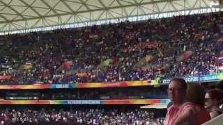 Indian National Anthem rings out across Adelaide Oval- India vs Pakistan Cricket World Cup 2015