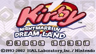 Fountain of Dreams - Kirby: Nightmare in Dream Land