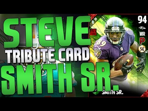 TRIBUTE STEVE SMITH CARD!! ROBERT MATHIS LIMITED EDITION! TOTW 17 PLAYER LIST!