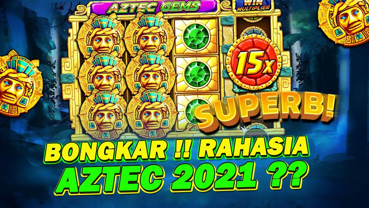 Modal 100k 7 Menit Jadi 1 JUTAA !! Trik Menang Slot Aztec Gems Modal Kecil  2021 - YouTube