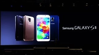 Samsung introduces Galaxy S5 smartphone