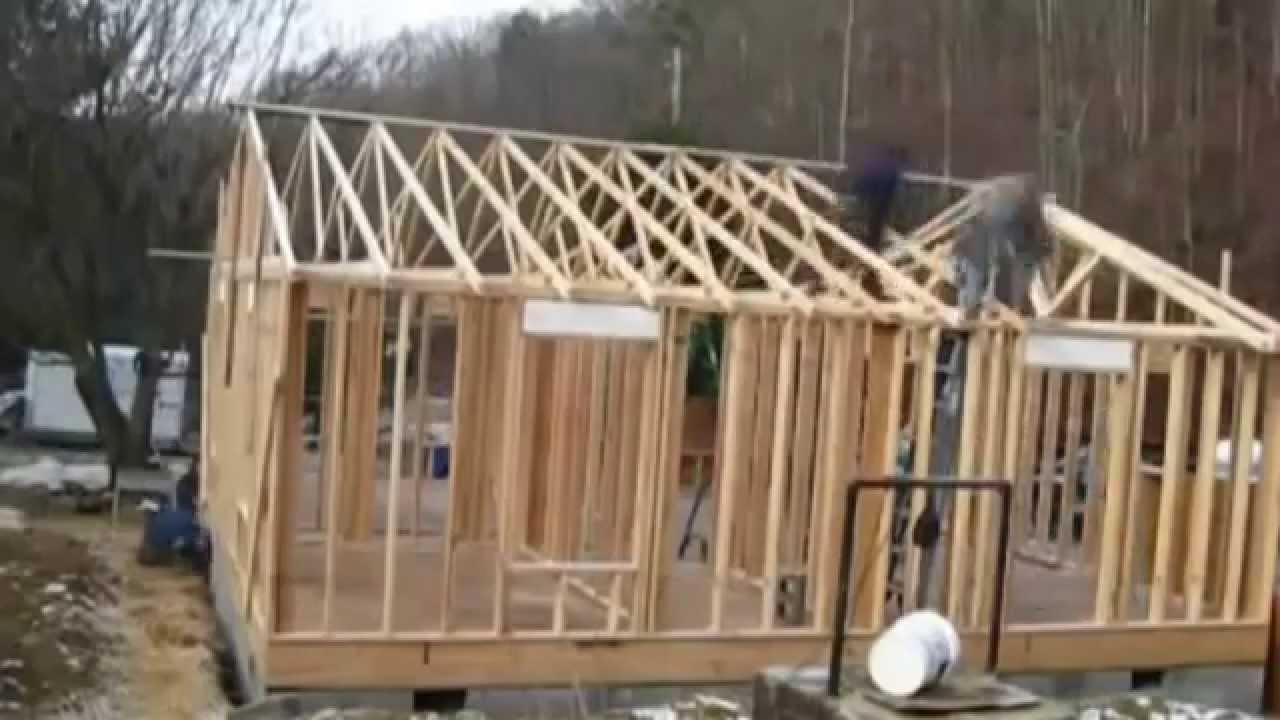 Как построить каркасный дом или дачу своими руками - YouTube