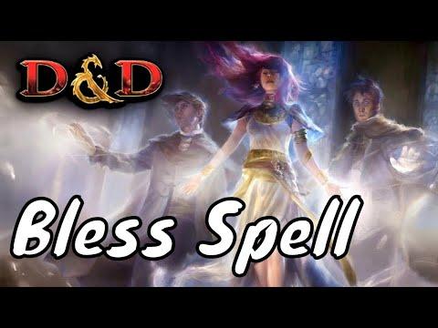 D&D Spell (5e): Bless