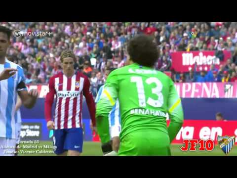 Memo Ochoa vs Atlético de Madrid   Atlético vs Málaga   Jornada 35 Liga BBVA 2015/2016 HD