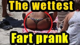WET FARTS AT THE BEACH | THE SHARTER | WETTEST FARTS EVER