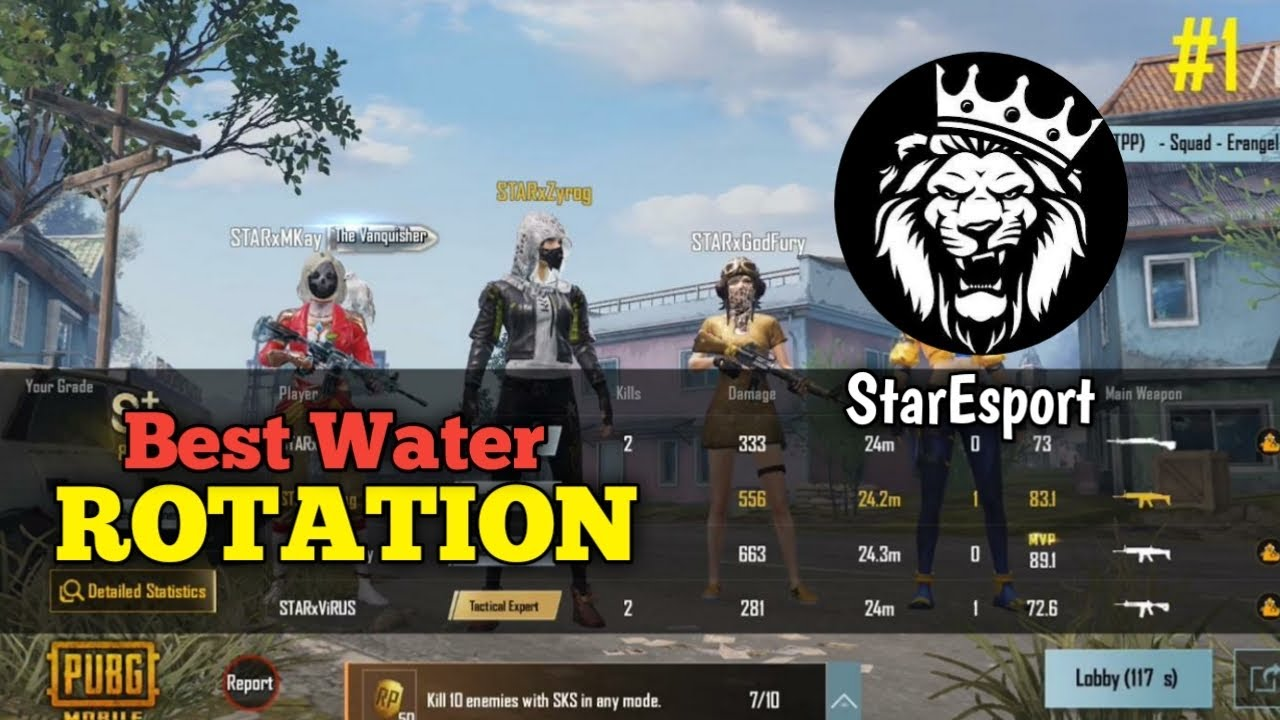 Download Best Water Rotation in Tcw T1 Extreme • StarEsport • PUBG • PAKISTAN 🇵🇰 • Zyrog