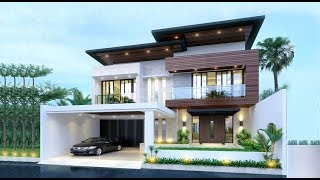Modern Double Floor House 1500 Sft For 15 Lakh | Elevation | Design | Interior