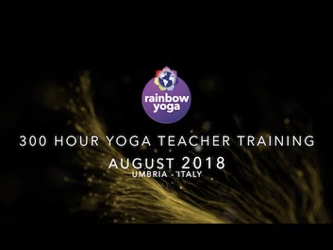 Our next 300 Hour Specialisation Teacher Training will be held August 1 - 28, 2018 in beautiful Umbria, Italy. Experience the journey of a lifetime! Register now to ensure you don't miss your place for this life changing experience. LEARN MORE: rainbowyogatraining.com/course/200300/italy/