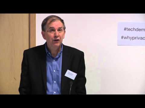 Why Privacy? - Panel 2: The Private Life; The State and Public Sphere