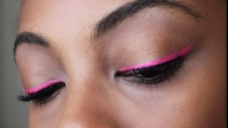 Bright/Neon Eyeliner Tutorial Thumbnail