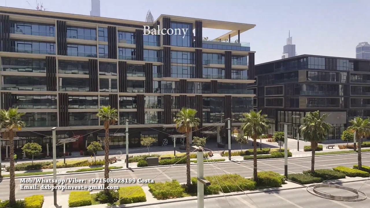 2 Bedroom Maids Apartment For Rent City Walk Dubai Youtube