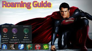 Superman Roam - Flying around the map - Arena of valor