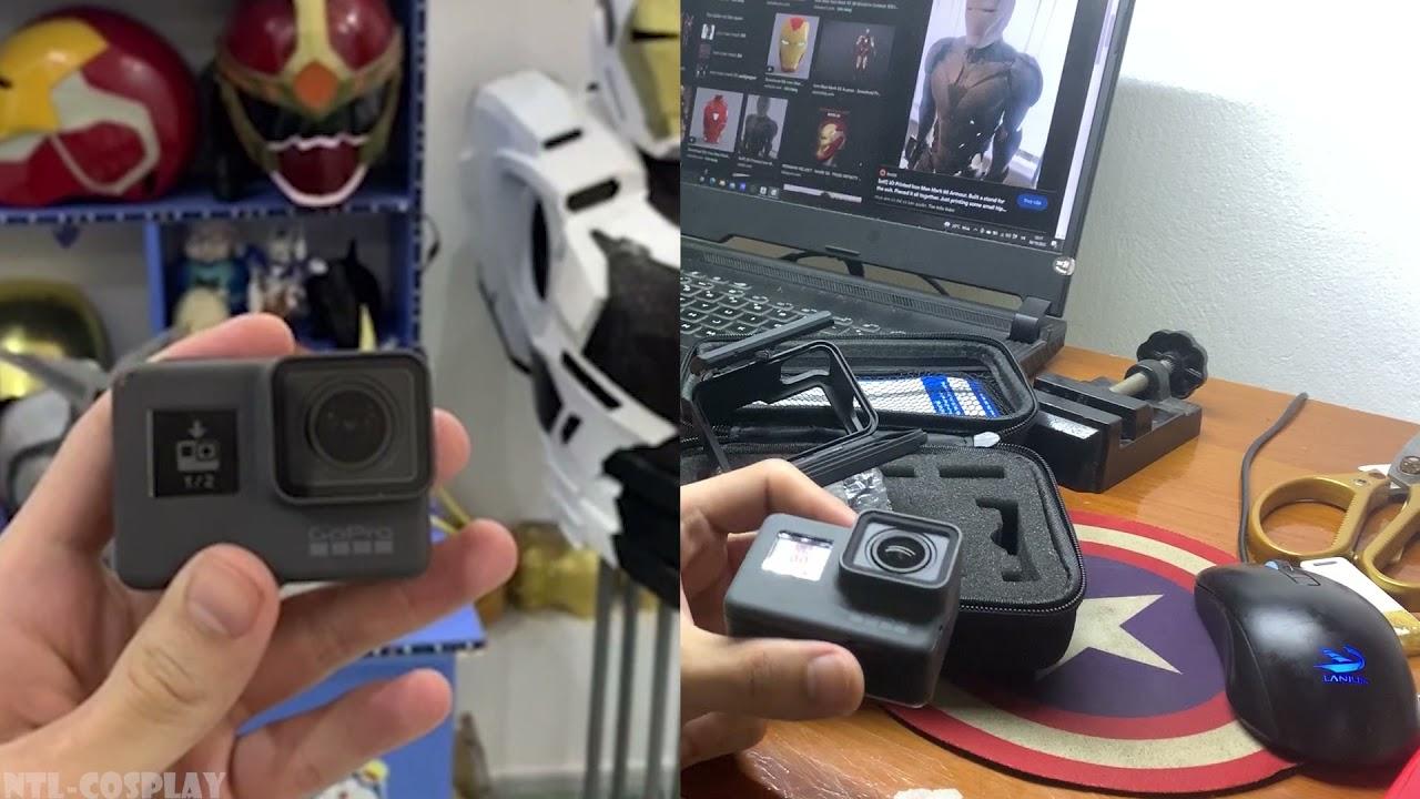 NTL-Cosplay║Sắm GOPRO HORO làm clip mà phải đổi tận 3 lần, mua camera trên shopee có thực sự uy tín?