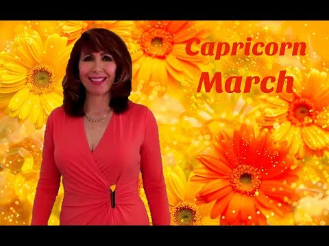 Capricorn March Astrology AWESOME Month Serious MANIFESTING