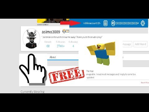 How To Get Free Robux Free Roblox Accounts 10000000 Robux