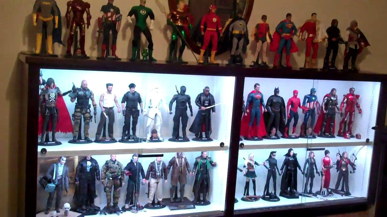 Merveilleux Custom Hot Toys Display Cabinet