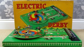 Faulty Rare ELECTRIC DERBY Horse Racing Board Game - Trying to FIX