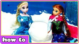 Disney Frozen Elsa & Anna Summer Snowball Magic | Amazing Magical Surprise By Hooplakidz How To