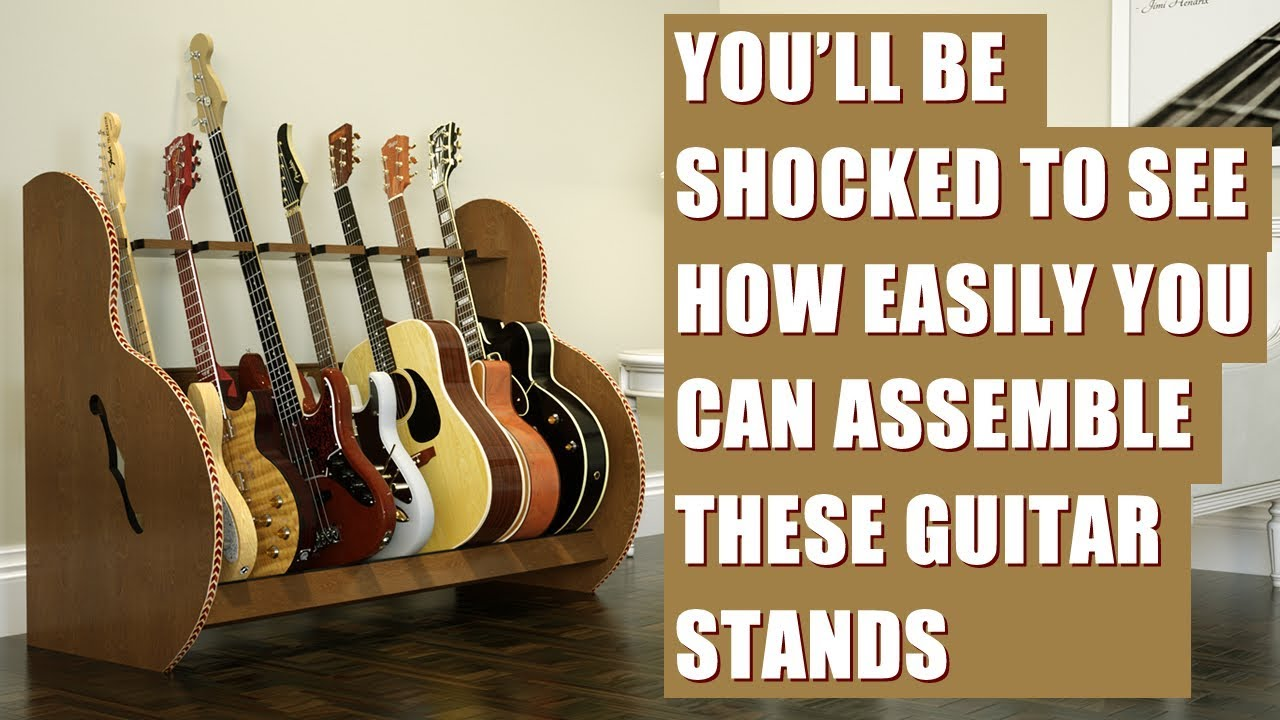 The Session Multiple Guitar Stand Assembly Is Eazy Peezy