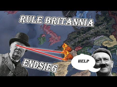 Hoi4: Endsieg: Ultimate Victory RULE BRITANNIA
