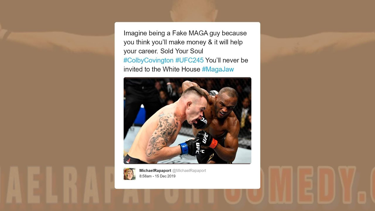 Pros React to Kamaru Usman knockout Colby Covington at UFC245