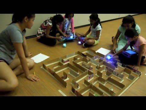 SparkIT Girls' Robotics Camp, Summer 2017