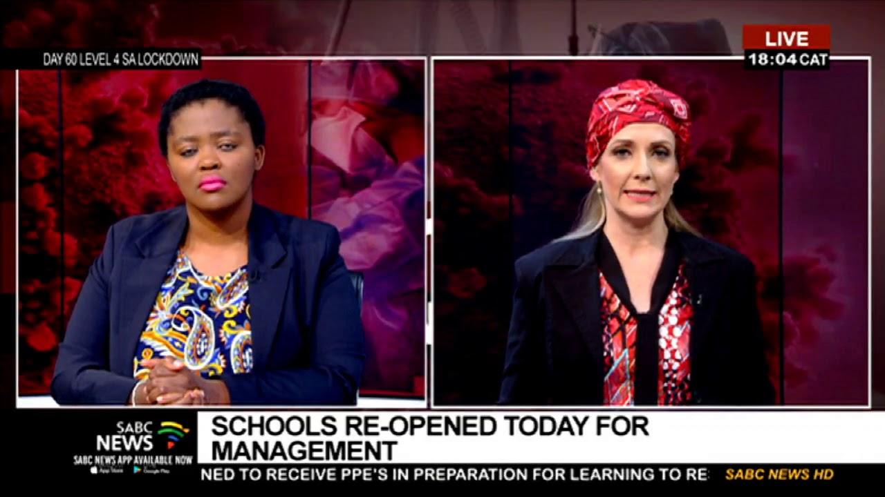 Readiness of Gauteng schools to reopen: Mahlako Komane