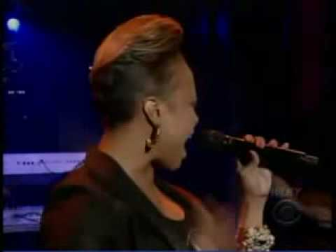 Chrisette Michele Blame It On Me On The Late Show With Davi