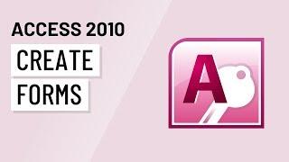 Access 2010: إنشاء النماذج