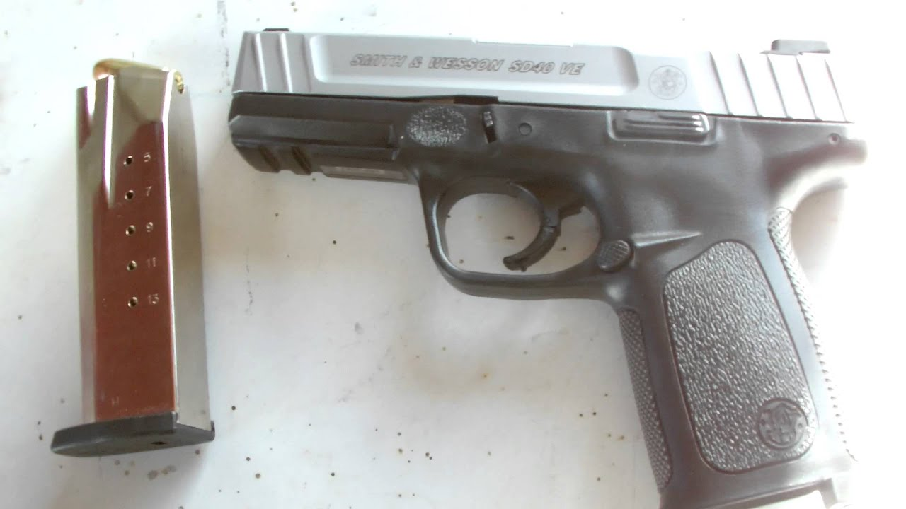 Review S&W SD40VE