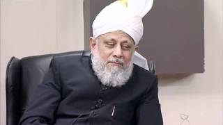 Gulshan-e-Waqfe Nau Khuddam, 15 Jan 2012, Educational class with Hadhrat Mirza Masroor Ahmad(aba)