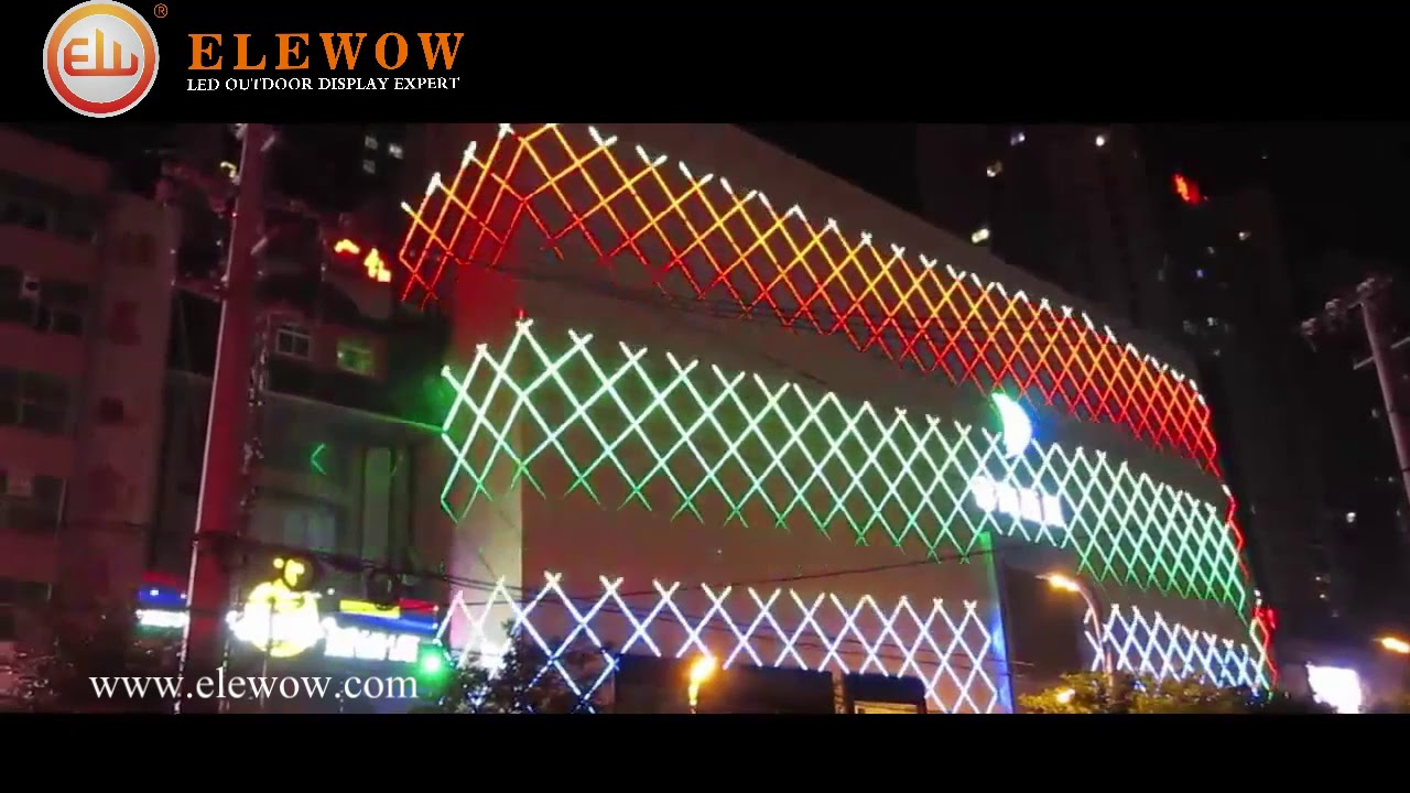 Exterior Led Tube Lights Rgb Led Tube For Facade Made By China Outdoor Led Lighting Expert