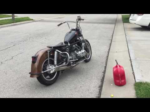 Goldwing 1100, single carb manifold | FunnyDog TV