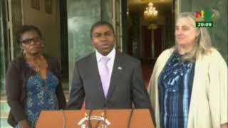 RTB/Coopération Canada -Burkina Faso : Audience entre l'ambassadeur du Canada au Burkina
