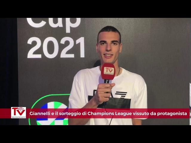 Giannelli e il sorteggio di Champions League vissuto da protagonista
